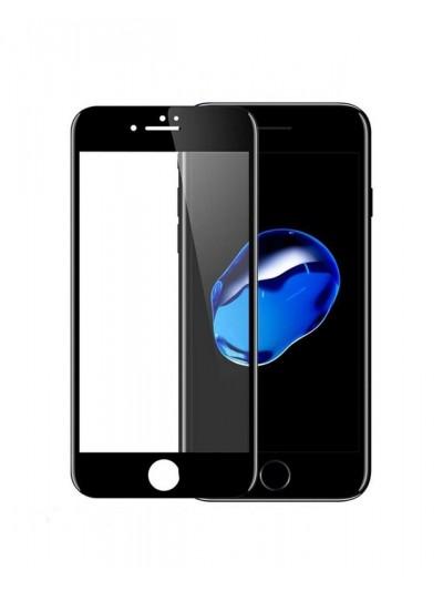 FOLIE STICLA IPHONE 6/6S FULL FACE NEGRU