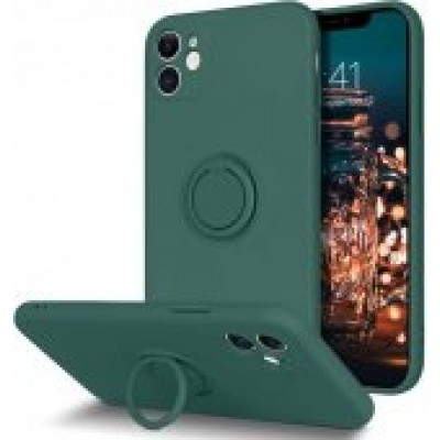 HUSA RING SILICONE IPHONE 12 PRO MAX VERDE