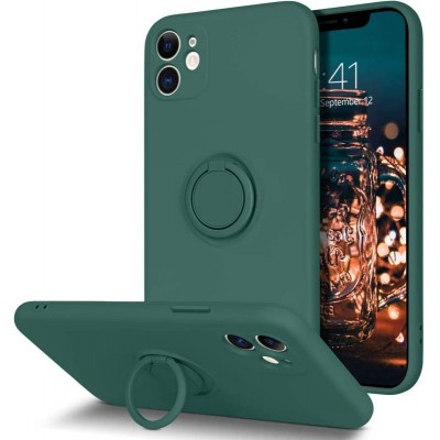 HUSA RING SILICONE IPHONE 13 PRO VERDE